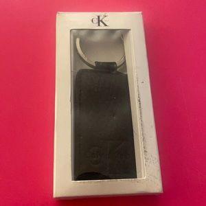 Calvin Klein leather keychain